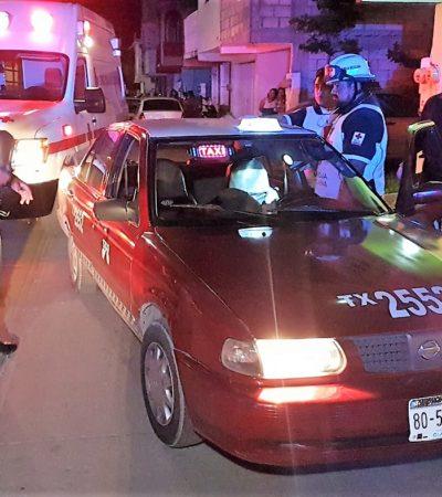 Pasajeros degüellan a taxista y apuñalan a otro en dos casos de robo ocurridos en Ciudad del Carmen