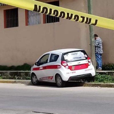 Acribillan a taxista en Coatzacoalcos; vecinos de la zona ya no se asoman por temor a las balas perdidas
