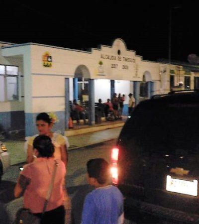 Vehículo de diputada fue agredido en Tihosuco