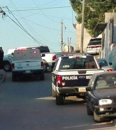 Sujeto provoca balacera, mata a su esposa y toma a su propio hijo como rehén en Tijuana, Baja California