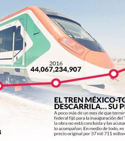 Inaugurará López Obrador cinco obras atrasadas y cuestionadas por sobreprecio que inició Peña Nieto