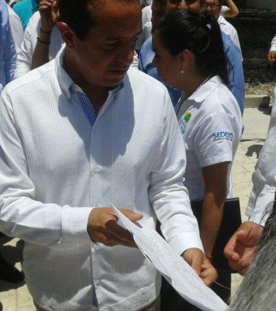 Tulumnenses denuncian ante el Gobernador presuntos abusos de la Fiscalía
