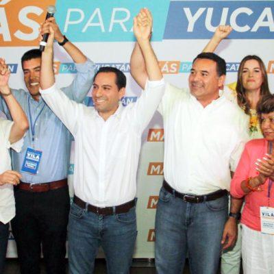 ELECCIÓN EN YUCATÁN: Favorecen tendencias a Mauricio Vila Dosal del PAN-MC; contrincantes a la expectativa
