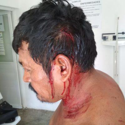 ESTALLA VIOLENCIA ELECTORAL EN SOLIDARIDAD: Denuncia Morena intento de 'reventar' la votación con vándalos en casillas de Puerto Aventuras y Playa del Carmen; hay descalabrados
