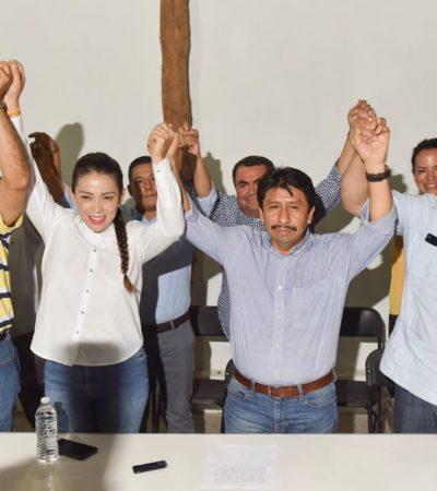 SE QUEDA EL 'FRENTE' CON TULUM: Víctor Mas celebra ventaja de 7 puntos por encima de los demás candidatos