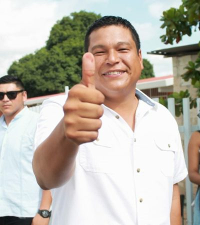 Dice Fernando Zelaya, candidato del PAN en OPB, que él ganó