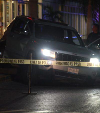 DOS ATAQUES A BALAZOS EN CANCÚN: Un muerto y dos heridos en incidentes en la Región 75 y en el estacionamiento de la Gran Plaza