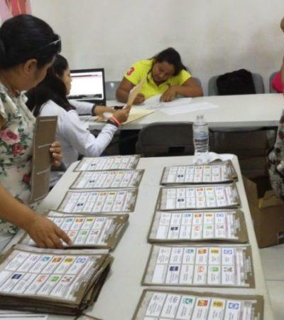 En Tulum habrá recuento de 34 paquetes electorales municipales