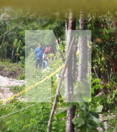 HALLAN A ADOLESCENTE EJECUTADO EN SASCABERA: Encuentran cuerpo enterrado en terrenos de la colonia El Milagro de Cancún