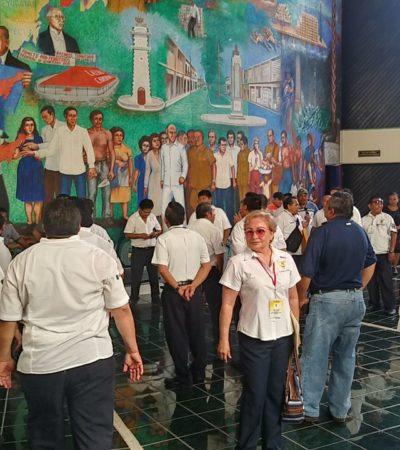 PRESIONAN TAXISTAS EN EL CONGRESO: Integrantes del Suchaa están a la expectativa por modificaciones a Ley de Movilidad