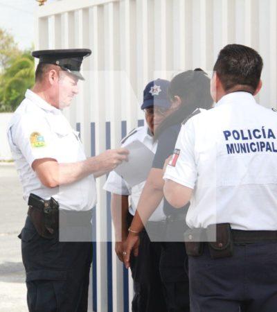 Reclaman policías de Cancún el pago del Fortaseg y alcanzan acuerdo preliminar