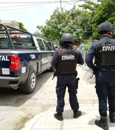 BLINDAN EL IEQROO DE SOLIDARIDAD: Se triplica la seguridad en la víspera del conteo definitivo de la elección para presidente municipal