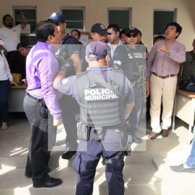 Lamenta PAN clima de violencia y enfrentamiento en Consejo Municipal del Ieqroo en Solidaridad; pide se refuerce vigilancia