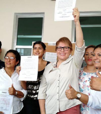 OTRA MUJER GOBERNARÁ SOLIDARIDAD: Dan constancia de mayoría a Laura Beristaín tras peleada elección en el corazón de la Riviera Maya