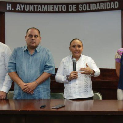 Regresa Cristina Torres al Ayuntamiento de Solidaridad; no piensa ahora en regiduría