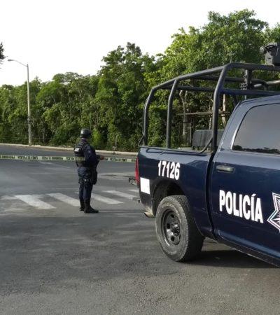 ASESINAN A MUJER EN REGIÓN 249: Hallan cadáver con al menos cinco disparos de bala en área verde sobre la avenida Chac Mool