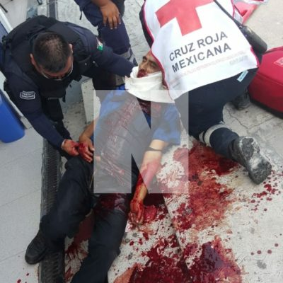 Le cortan el cuello a un hombre en las inmediaciones de 'El Crucero' de Cancún