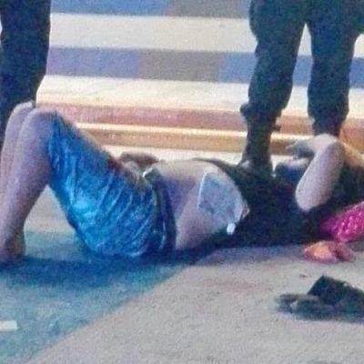 Con dos disparos en el pecho, intentan asesinar a taxista en Prado Norte de Cancún