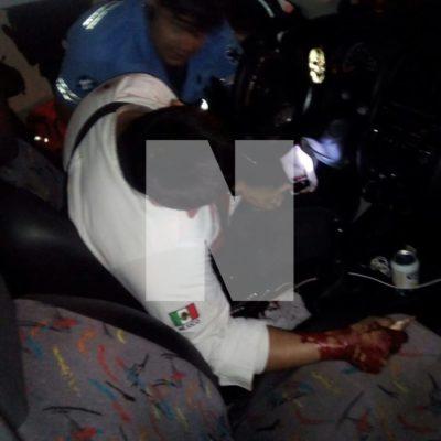 EJECUTAN A TAXISTA EN PLAYA DEL CARMEN: Matan al tercero del día durante un ataque en las inmediaciones de bar 'Íntimos'