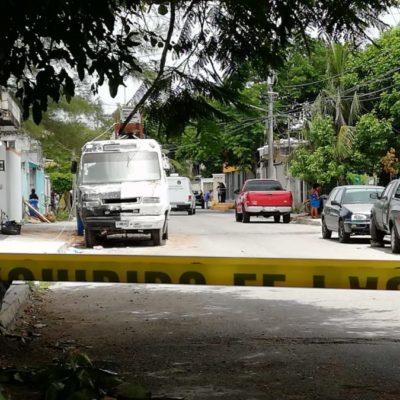 Afirma Cristina Torres que trabajan en seguridad, a pesar de la ola de violencia que registra cuatro personas ejecutadas en menos de 36 horas, en Playa del Carmen