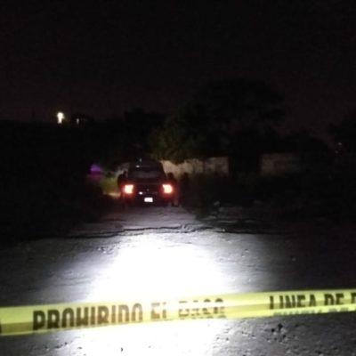 HALLAN MANIATADOS EN COLONIA IRREGULAR: Una persona muerta y otra herida, saldo preliminar en Los García de Cancún