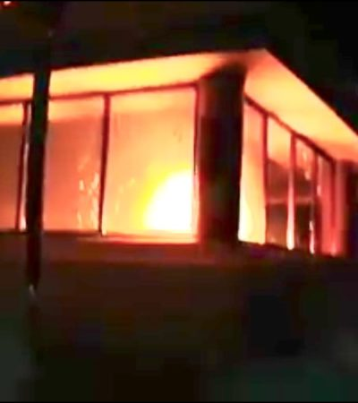 Consume incendio exclusivo restaurante del complejo Bahía Príncipe en Tulum