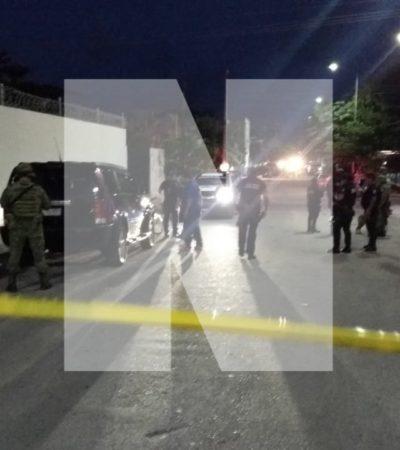 Hieren de bala a mesero en Playa del Carmen
