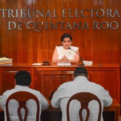 Aprueba Teqroo amonestar al PES y a su candidato en Chetumal por colgarse de la imagen de López Obrador durante la pasada campaña electoral