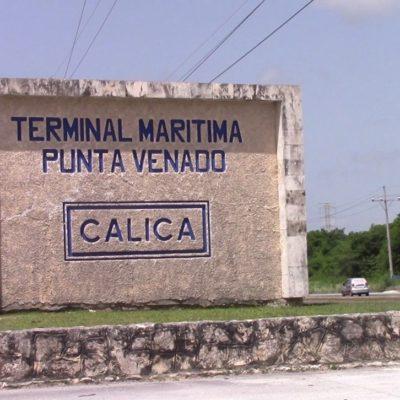Decomisan 100 kilos de marihuana en la terminal marítima de Punta Venado; un detenido