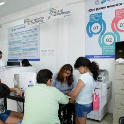 Facilita módulo SARE en Solidaridad apertura rápida de 800 empresas en nueve meses