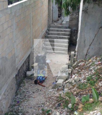 NO CEDE LA VIOLENCIA EN CANCÚN: Ejecutan a balazos a un joven en la Región 102