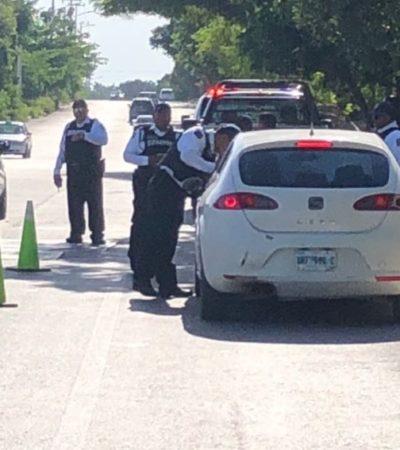 REFUERZAN SEGURIDAD EN CANCÚN TRAS OLA DE CRIMENES: La SSP envía elementos de tránsito a Cancún para realizar operativos estratégicos y aumentar la seguridad con retenes
