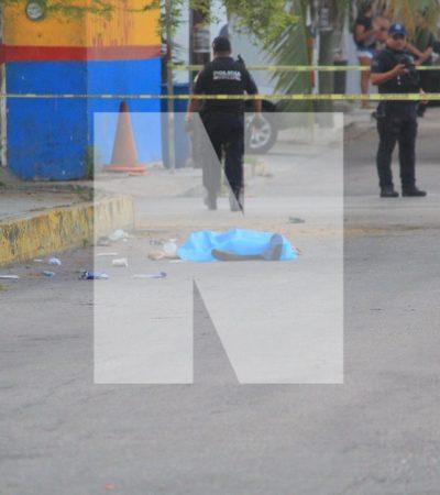 Con huellas de tortura, aparece ejecutado en plena vía pública en la colonia Gonzalo Guerrero de Playa del Carmen
