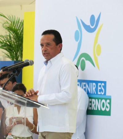 El Modelo de Prevención Quintana Roo es la estrategia central para reconstruir el tejido social y avanzar en la recuperación de la tranquilidad perdida, asegura Carlos Joaquín