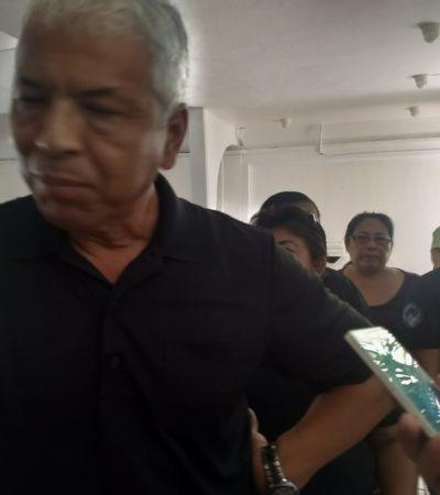 SE REBELAN MANDOS DE LA PRISIÓN: Encabeza director de la cárcel de Cancún manifestación de celadoras y custodios en demanda de mejores condiciones salariales
