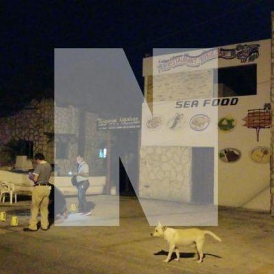 MATANZA EN PUERTO JUÁREZ: Tiroteo deja al menos 5 muertos y 2 heridos; un ministerial, entre los abatidos