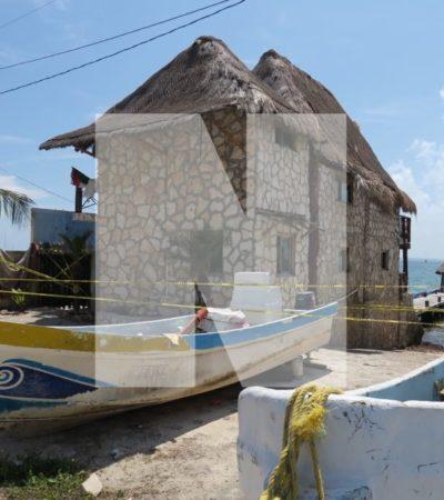 EL DÍA DESPUÉS DE LA MATANZA EN PUERTO JUÁREZ: Siguen los trabajos de la Fiscalía en el local donde se perpetró un violento ataque con saldo de 5 muertos y 3 heridos