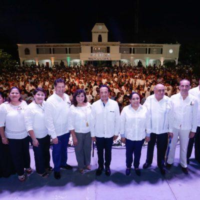 CELEBRAN 25 ANIVERSARIO DE SOLIDARIDAD: Aprovecha Alcaldesa festejo para destacar obras y compromisos de su gobierno