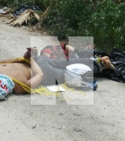SEGUIMIENTO | CUATRO MUERTOS EN CANCÚN: Tres cuerpos maniatados en la región 247, uno más por riña en la región 99 y dos detenidos