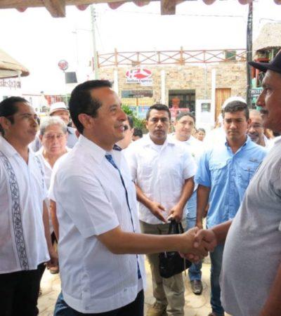 Asegura Carlos Joaquín que ha buscado darle fortaleza turística a Chiquilá para que obtenga mayor derrama económica