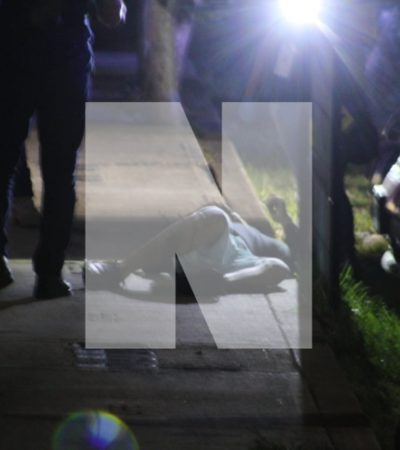 OTRO EJECUTADO EN LA REGIÓN 260: Matan a balazos a un hombre en Ciudad Natura de Cancún