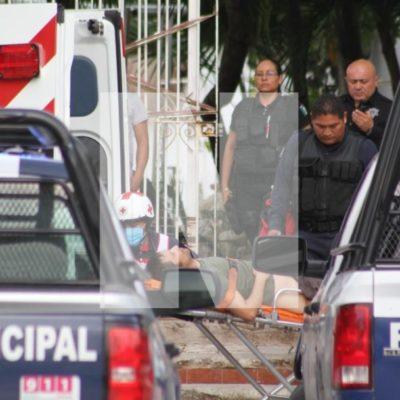 SEGUIMIENTO  Lesionado en hotel Casa Caribela, es empleado y estaba reunido con dos sujetos cuando fue agredido