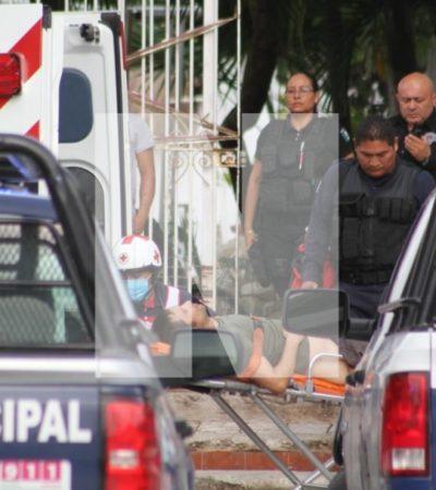 SEGUIMIENTO| Lesionado en hotel Casa Caribela, es empleado y estaba reunido con dos sujetos cuando fue agredido