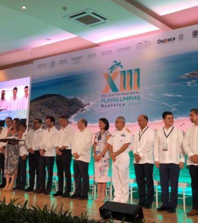 El Ayuntamiento de Benito Juárez celebra la recertificación 'Blue Flag' de siete playas de Cancún