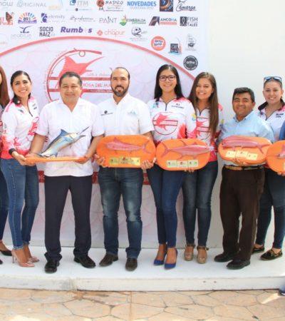 Puerto Morelos será la sede del Torneo Internacional de Pesca Deportiva Femenil
