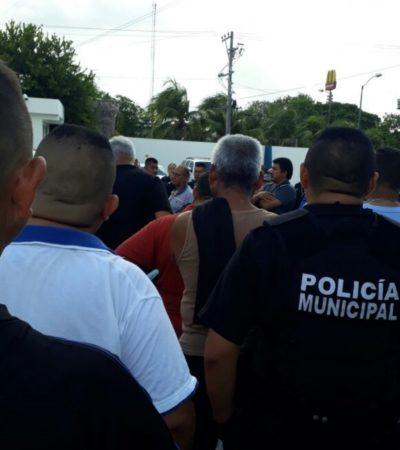 Darwin Puc Acosta descarta paro de policías en Cancún