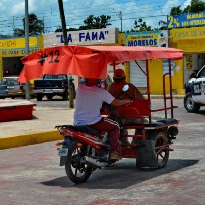 Taxistas, mototaxistas y tricicleros tienen pérdidas de hasta un 60 por ciento por las vacaciones escolares