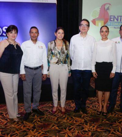 Samaria Angulo Sala asiste a la Reunión Nacional de Entornos y Comunidades Saludables Cancún 2018