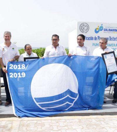 CUATRO PLAYAS CERTIFICADAS EN LA RIVIERA MAYA: En Xcalacoco, Punta Esmeralda, Kantenah y Playa 88 ya ondea la 'Blue Flag' que avala la calidad del agua y los servicios