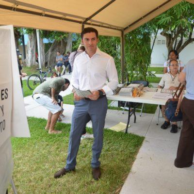 Remberto Estrada Barba espera que, a partir de esta elección, Quintana Roo deje de ser uno de los estados donde menos se vota